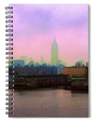 New York City From Hoboken Spiral Notebook