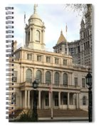 New York City Hall Spiral Notebook