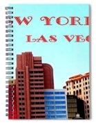 New York City- Las Vegas Spiral Notebook