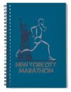 New York City Marathon3 Spiral Notebook