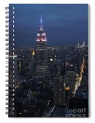 New York City Nights Spiral Notebook