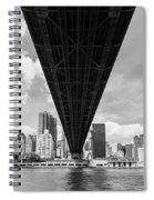 New York City - Queensboro Bridge Spiral Notebook