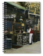 New York City Restaurant Spiral Notebook