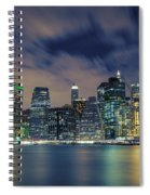 New York City Skyline Spiral Notebook