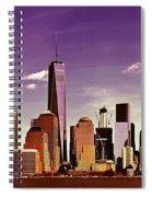 New York City Skyline Spiral Notebook