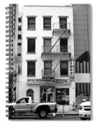 New York City Storefront Bw5 Spiral Notebook