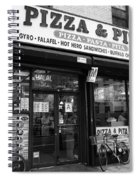 New York City Storefront Bw6 Spiral Notebook