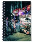 New York City Street Vendor Spiral Notebook