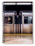 New York City Subway Cars Spiral Notebook