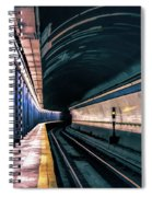 New York City Subway Station Spiral Notebook