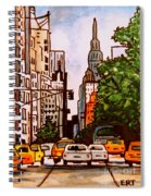New York City Taxis Spiral Notebook