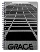 New York City - W. R. Grace Building Spiral Notebook