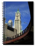 New York City - Woolworth Building Spiral Notebook
