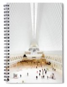 New York City World Trade Center Oculus Spiral Notebook