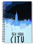 New York City X Ray Spiral Notebook