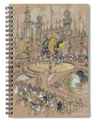 New York, Coney Island, C1906.  Spiral Notebook