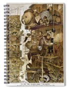 New York: Fire Escapes Spiral Notebook