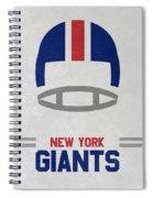 New York Giants Vintage Art Spiral Notebook
