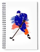 New York Islanders Player Shirt Spiral Notebook