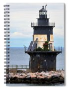 New York Lighthouse-3 Spiral Notebook