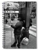 New York, New York 3 Spiral Notebook