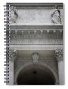 New York Public Library- Art By Linda Woods Spiral Notebook