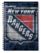 New York Rangers Barn Door Spiral Notebook