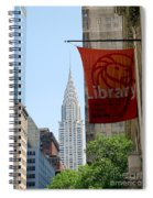 New York Scene Spiral Notebook