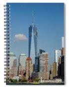 New York Skyline Spiral Notebook