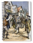 New York: Stamp Act , 1765 Spiral Notebook