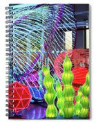 New York State Chinese Lantern Festival 4 Spiral Notebook