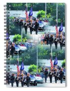 New York State Police Color Guard  1 Spiral Notebook