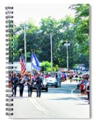 New York State Police Color Guard  2 Spiral Notebook