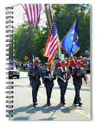 New York State Police Color Guard  5 Spiral Notebook