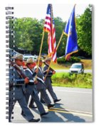 New York State Police Color Guard  6 Spiral Notebook