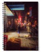 New York Summer Nights Spiral Notebook