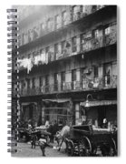 New York: Tenements, 1912 Spiral Notebook
