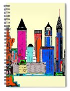 New York - The Big City Spiral Notebook