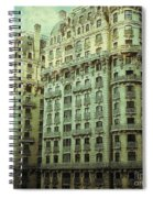 New York Upper West Side Apartment Building Spiral Notebook