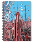New York Urban Colors 2 Spiral Notebook