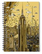 New York Urban Colors 3 Spiral Notebook