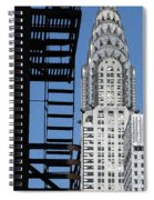 New York Watercolor 3 Spiral Notebook