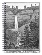New York: Waterfall Spiral Notebook