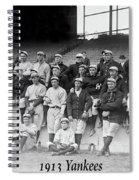 New York Yankees 1913 Spiral Notebook
