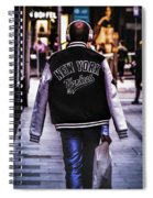 New York Yankees Baseball Jacket Spiral Notebook