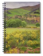 New Zealand Countryside Spiral Notebook