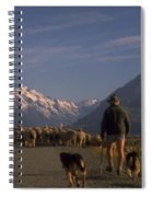 New Zealand Mt Cook Spiral Notebook