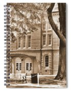 Newberry Opera House Newberry Sc Sepia Spiral Notebook