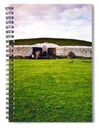 Newgrange Morning Spiral Notebook