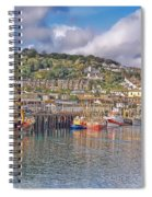 Newlyn Harbour Cornwall 2 Spiral Notebook